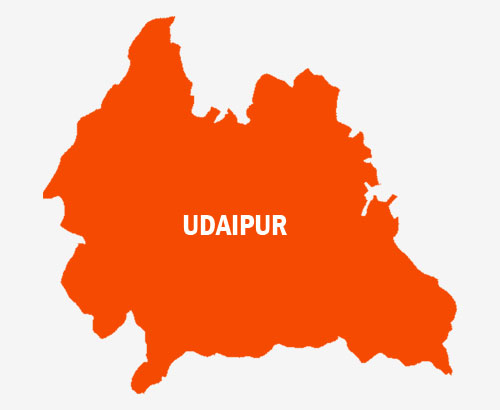 Udaipur-Map